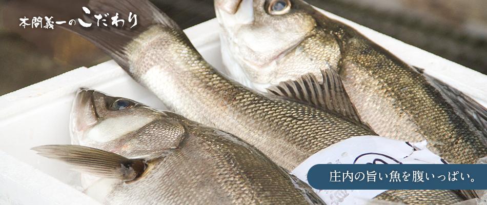 地魚料理への思い